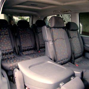 Гостевой дом Вахтанга: вид салона автомобиля с текстильными сиденьями